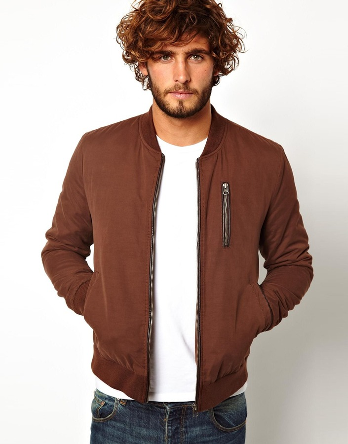 Asos Brand Bomber Jacket | Where to buy & how to wear