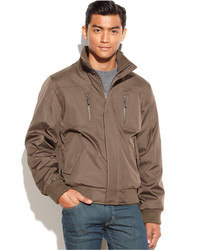Calvin Klein Full Zip Ripstop Bomber Jacket
