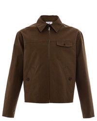 Superdry Harry Stedman Brown Drizzler Jacket