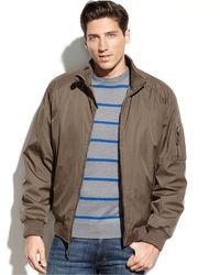 Calvin Klein Jacket Ripstop Bomber Jacket