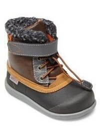 See Kai Run Babys Toddlers Jack Faux Fur Trim Boots
