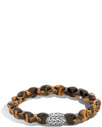 Batu classic chain bracelet with tigers eye medium 610262