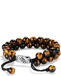 Spiritual beads two row bracelet with tigers eye medium 608745