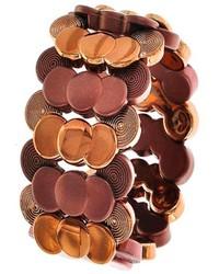 The Wear House Accessorized Copper Tone Bracelet