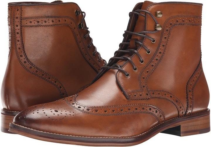 2e299cf0e1a $175, Johnston & Murphy Conard Wingtip Boot