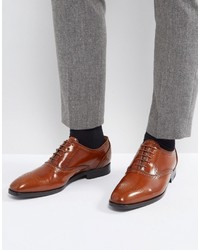 Paul Smith Ps By Gilbert High Shine Brogues In Tan