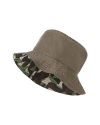 Fendi Big Bugs Print Reversible Nylon Bucket Hat