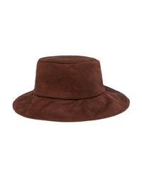 Albus Lumen Isa Suede Bucket Hat