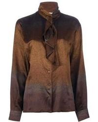 Gucci Vintage Lavalire Seventies Blouse