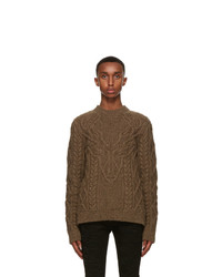DSQUARED2 Brown Knit Canadian Sweater