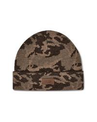 Brown Camouflage Beanie
