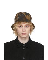Wood Wood Khaki Camo Bucket Hat