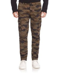Brown Camouflage Cargo Pants