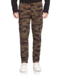 Castron camouflage printed cargo pants medium 789007