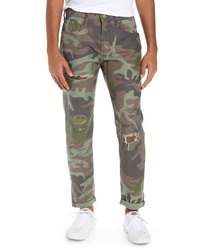Brown Camouflage Chinos