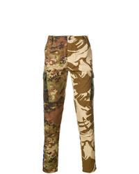 Paura Military Printed Trousers