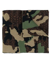 Moschino Lost Found Wool Scarf