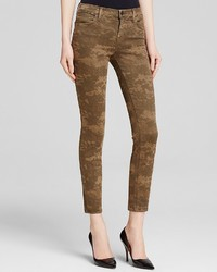 J Brand Jeans Photo Ready Mid Rise Cropped Skinny In Camo