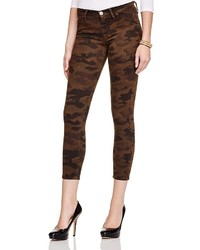 Lilly camouflage print skinny jeans medium 320631