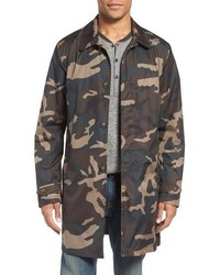 Jack Spade Camo Packable Trench Coat