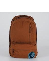 Volcom Basis Slouch Backpack Brown One Size For 910102400