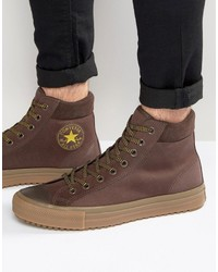 Converse Chuck Taylor All Star Boot Pc Sneakers In Brown 153674c 219