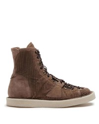 Dolce & Gabbana Corduroy Ankle Boots