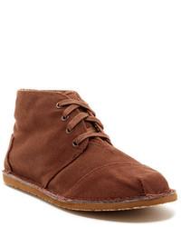 Brown Canvas Desert Boots