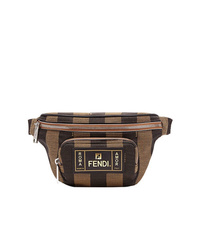 Brown Canvas Fanny Pack