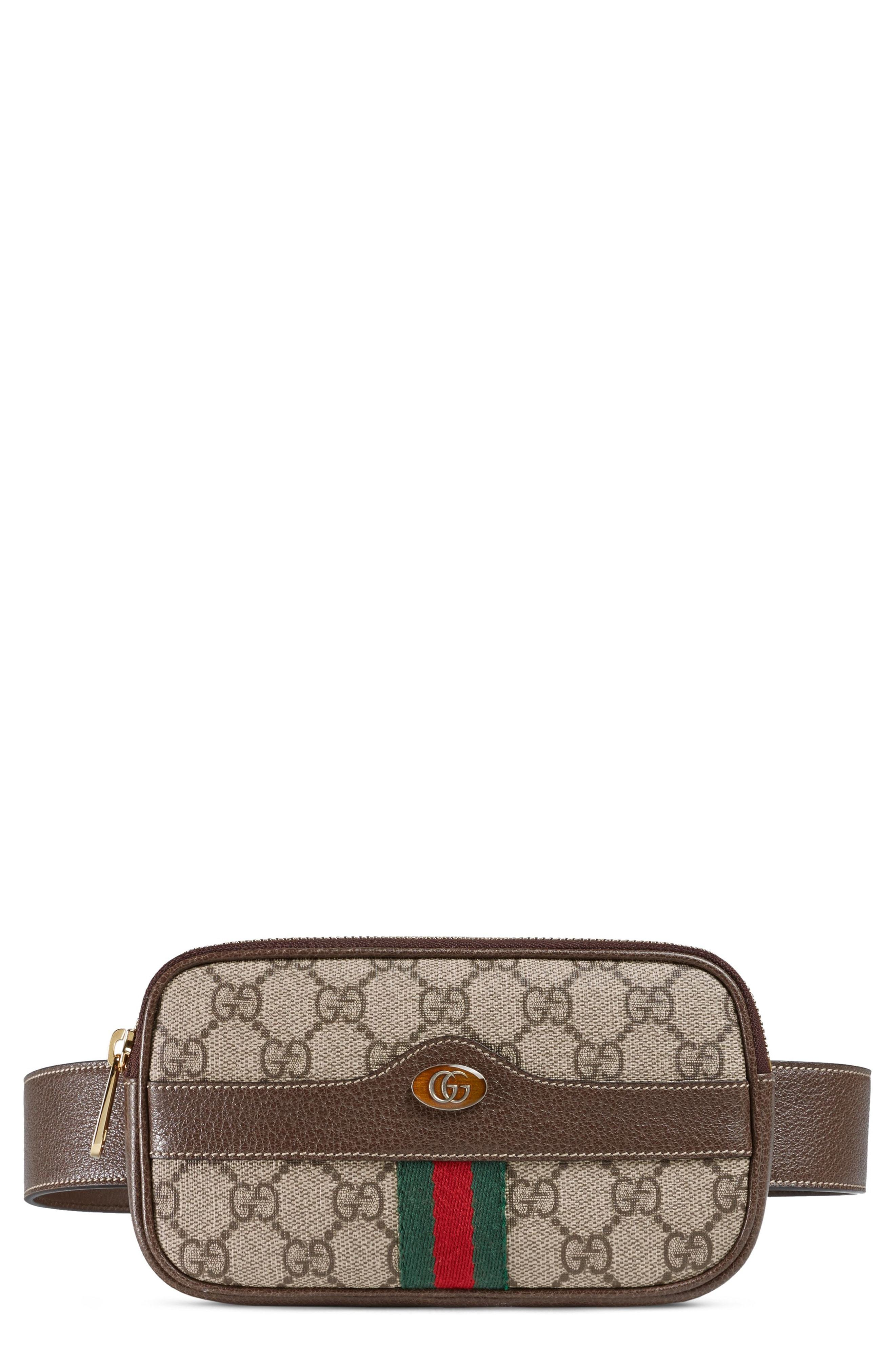 b1d54b7e81b5b3 Gucci Ophidia Gg Supreme Small Canvas Belt Bag, $750 | Nordstrom ...