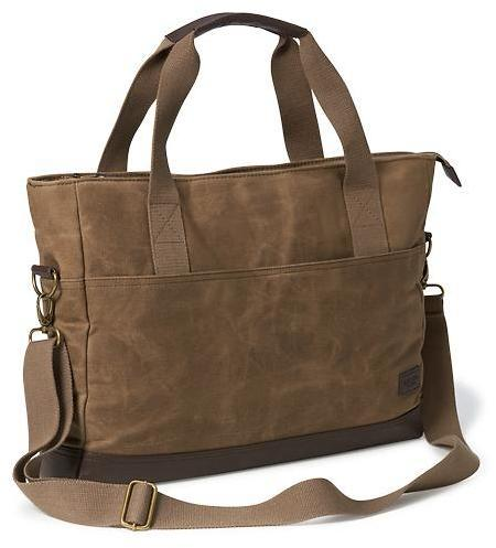 39 Old Navy Waxed Canvas Messenger Bag For