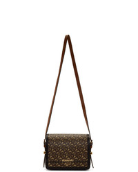 Burberry Brown E Canvas Small Grace Bag