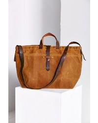 Uo urban renewal peg and awl large waxed canvas tote bag medium 142608