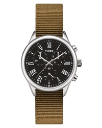 Brown Canvas Watch