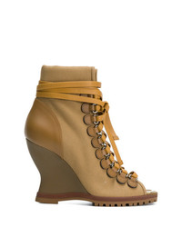 Chloé River Wedge Ankle Boots