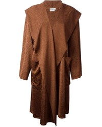 Brown cape coat original 10130165