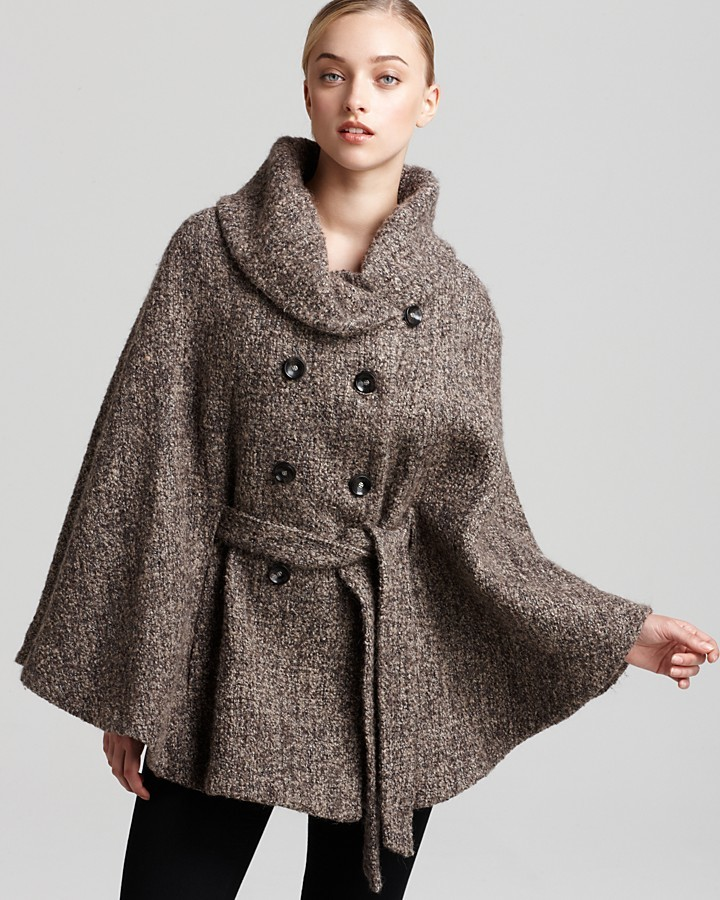 Calvin Klein Tweed Cape | Where to buy & how to wear