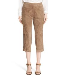 Brown Capri Pants
