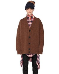 DSQUARED2 Heavy Wool Oversized Cardigan