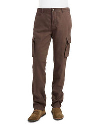 Black Brown 1826 Cargo Pants