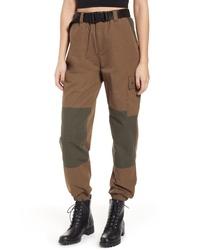 Topshop Contrast Dixie Trousers