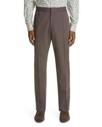 Ermenegildo Zegna Cotton Linen Jogger Pants
