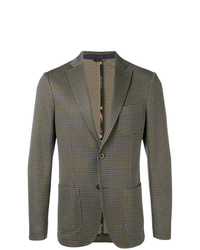 Etro Formal Check Blazer