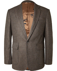 Billy Reid Houndstooth Check Wool Blend Blazer