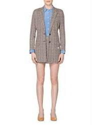 SUISTUDIO Tory Check Suit Jacket