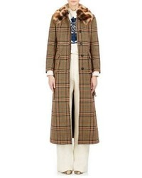 Dries Van Noten Visconti Belted Coat Tan