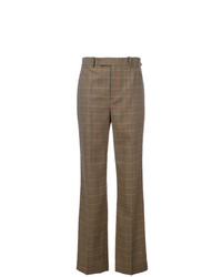 Ralph Lauren Collection Checked Flared Pants