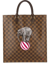 Louis Vuitton Vintage Checked Shopper Tote