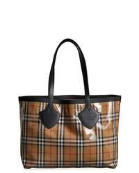 Burberry The Medium Giant Tote In Vintage Check