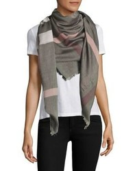 Mega check square scarf medium 3703126